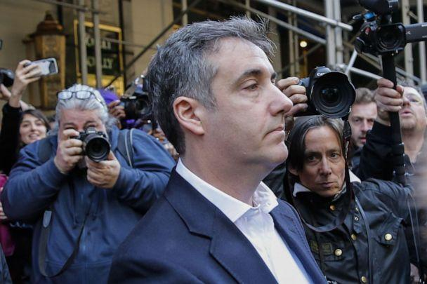 PHOTO:Michael Cohen, the former lawyer for President Donald Trump, leaves his Park Avenue apartment May 6, 2019 in N.Y. (Eduardo Munoz Alvarez/AFP/Getty Images)