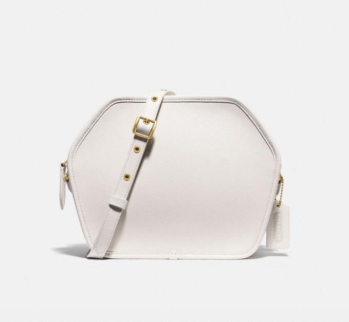 Zip Geometric Pouch. Image via Coach Outlet.