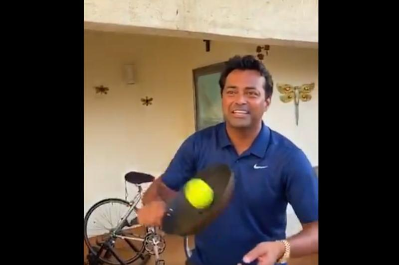 'My Mother is Still Complaining' Leander Paes Reveals Outcome of #FryingPanChallenge
