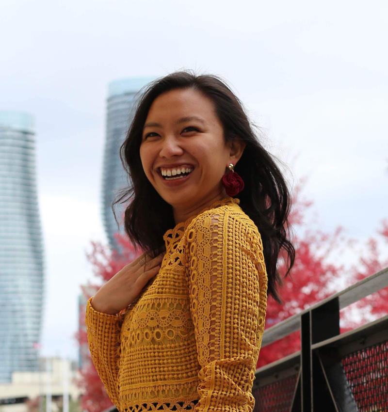 Justine Abigail Yu is the founder and editor of Living Hyphen magazine.