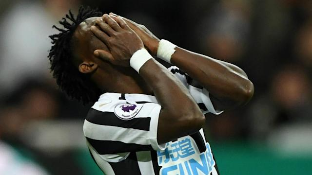 The Ghana international's peripheral role at St. James' Park in recent times has been revealed