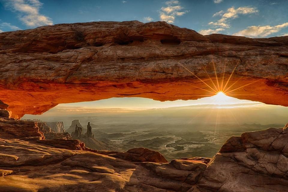 <p>Utah is home to some epic National Parks, including Canyonlands which is home to the stunning Mesa Arch.</p>