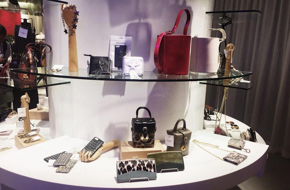 Some of the items available at LUMINE. (Photo: Gabriel Choo / Yahoo Lifestyle Singapore)