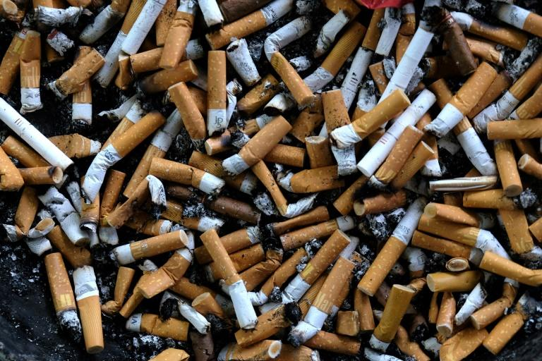 For the past two decades, global tobacco use has been slowly dwindling (AFP Photo/PATRIK STOLLARZ)