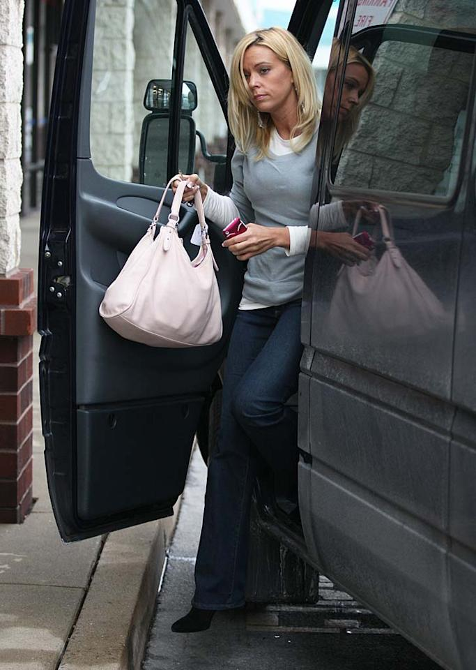 "Before picking up her kids from school on Tuesday, Kate Gosselin made a quick stop off at her local liquor store in West Reading, Pennsylvania. <a href=""http://www.infdaily.com"" target=""new"">INFDaily.com</a> - January 25, 2011"