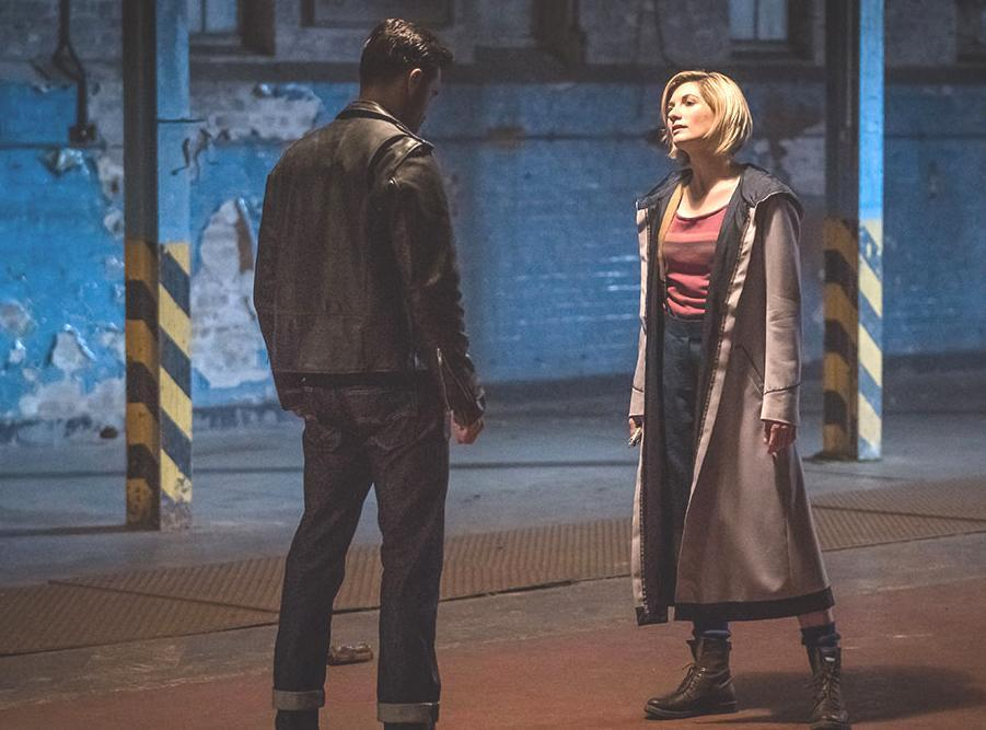 Jodie Whittaker and Joshua Bowman in Doctor Who: Rosa (BBC)