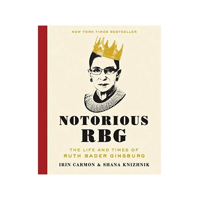 "An inspirational read for the politics enthusiast who needs a break from CNN. $16, Amazon. <a href=""https://www.amazon.com/Notorious-RBG-Times-Bader-Ginsburg/dp/0062415832"" rel=""nofollow noopener"" target=""_blank"" data-ylk=""slk:Get it now!"" class=""link rapid-noclick-resp"">Get it now!</a>"