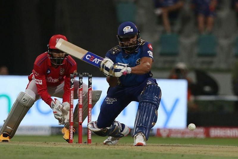 Will Rohit Sharma score another half-century against KXIP?