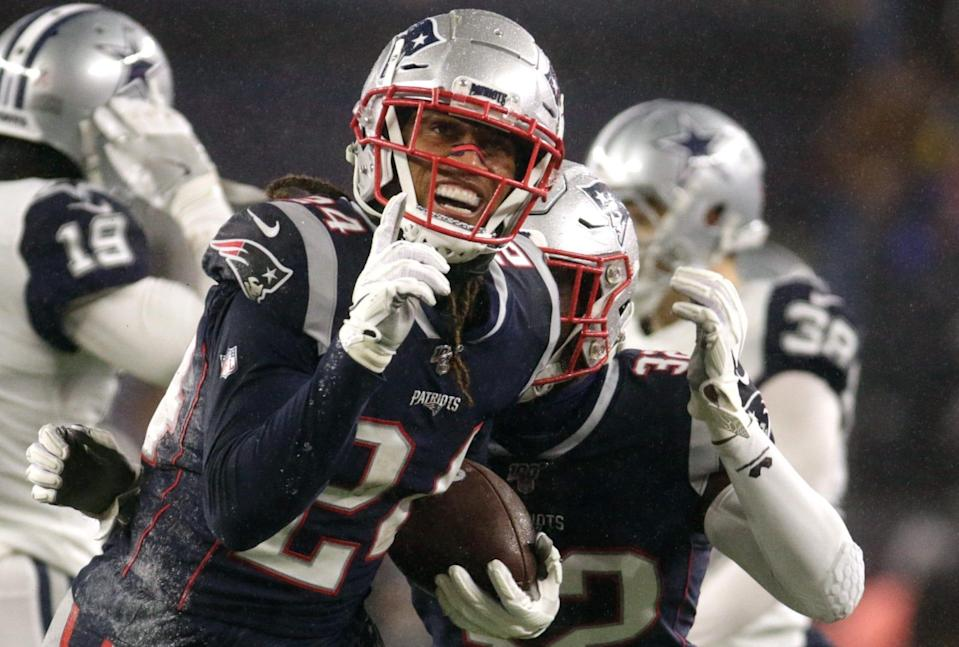 Patriots cornerback Stephon Gilmore reportedly is holding out of mandatory minicamp.