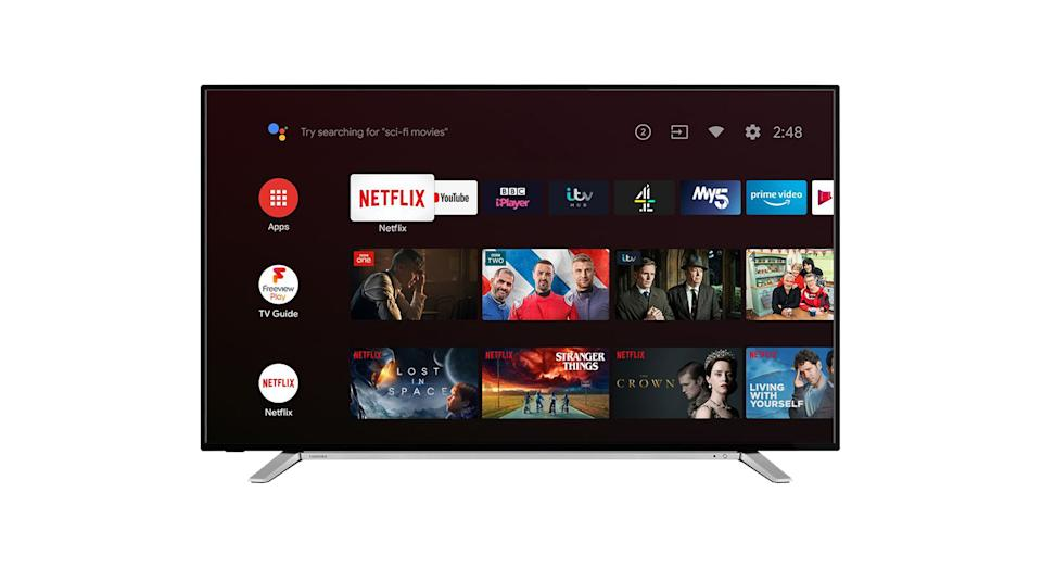 "Toshiba 50"" Smart 4K Ultra HD HDR LED TV with Google Assistant"