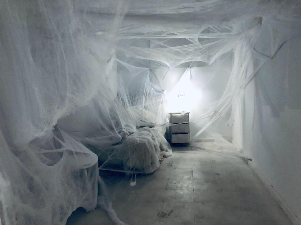 <p>This room is anything but comforting. </p>