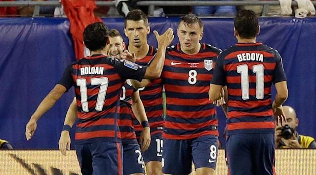 Jordan Morris (8) scored big goals in key moments during the Gold Cup, which no doubt helped raise his stock going forward. (SI)