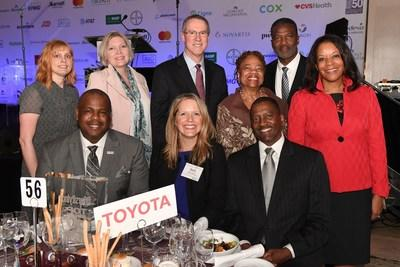 DiversityInc named Toyota Motor North America one of its Top 50 Companies for Diversity
