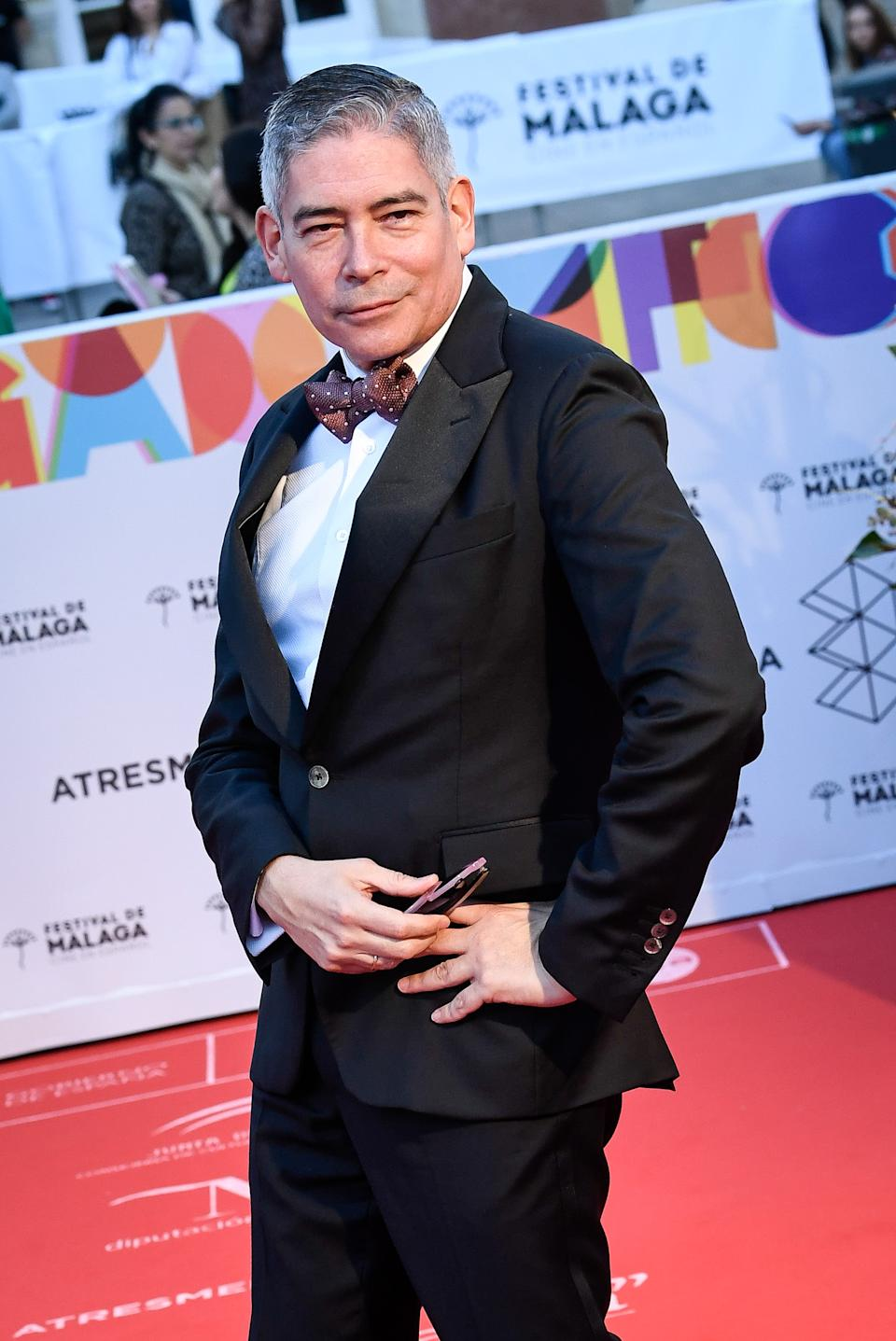 MALAGA, SPAIN - MARCH 15: Boris Izaguirre attends Opening Day - Red Carpet - Malaga Film Festival 2019 on March 15, 2019 in Malaga, Spain. (Photo by Carlos Alvarez/Getty Images)