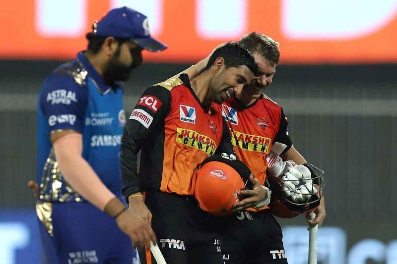 The Mumbai Indians suffered a 10-wicket loss against the Sunrisers Hyderabad [P/C: iplt20.com]