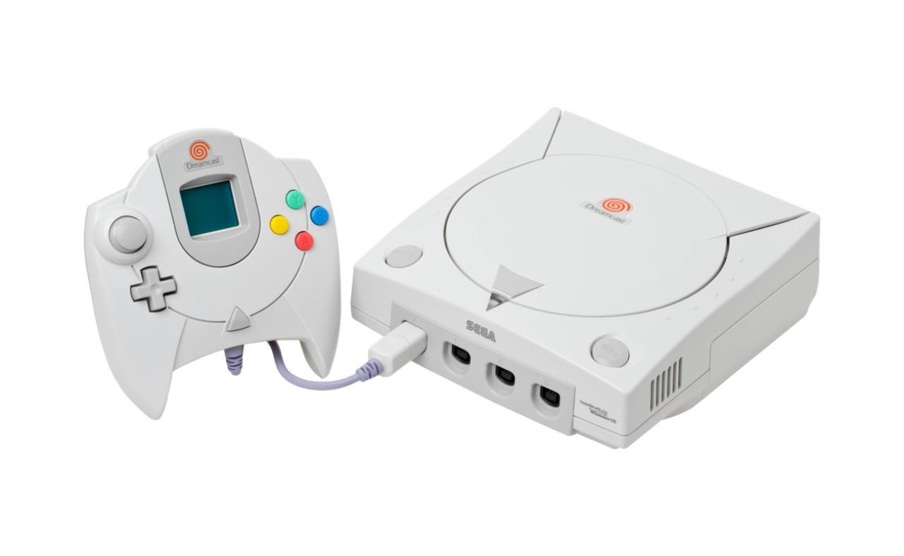 <p>First released in 1998, the Dreamcast was supposed to be something of a comeback after the flop that was the Sega Saturn. Relatively successful on its release, the Dreamcast was subsequently buried by the success of the Sony PlayStation 2. Sega never made another home console. (Wikipedia/Evan-Amos)</p>