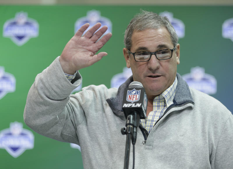 Dave Gettleman will be the Giants' next general manager. (AP)