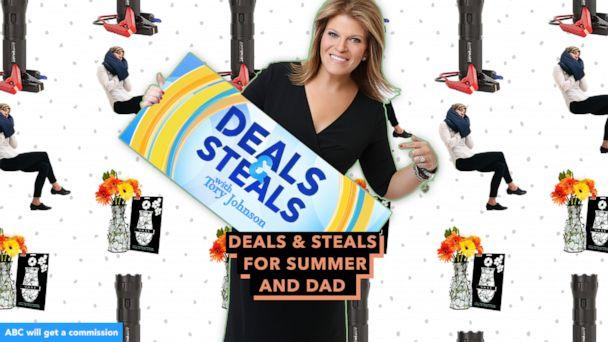 PHOTO: Deals & Steals for summer and Dad (ABC News)