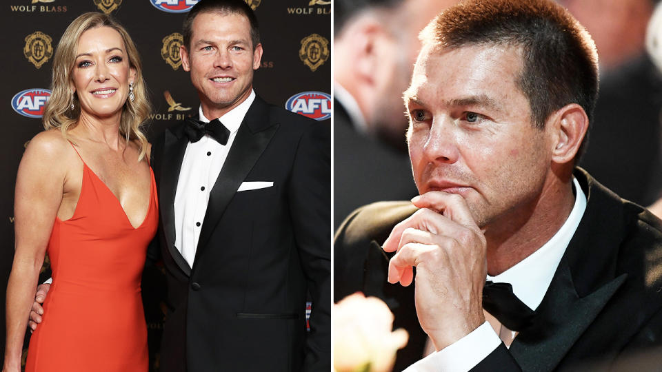 Ben Cousins, pictured here at his first Brownlow Medal in 11 years.