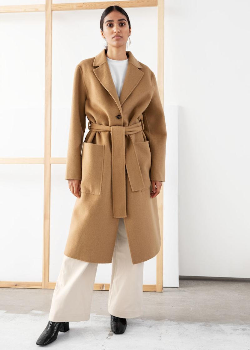 & Other Stories coat (Credit: & Other Stories)