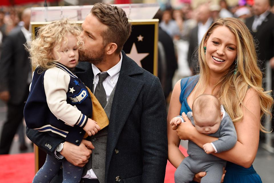 """<h1 class=""""title"""">Ryan Reynolds Honored With Star On The Hollywood Walk Of Fame</h1><cite class=""""credit"""">Matt Winkelmeyer/Getty Images</cite>"""