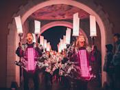 <p><b>But once night falls, make sure you follow the parade up to the main arena to take in the big-name bands. This year, you can rock out to Bloc Party and The Flaming Lips, in addition to Rag 'N' Bone Man and Laura Mvula. </b></p>