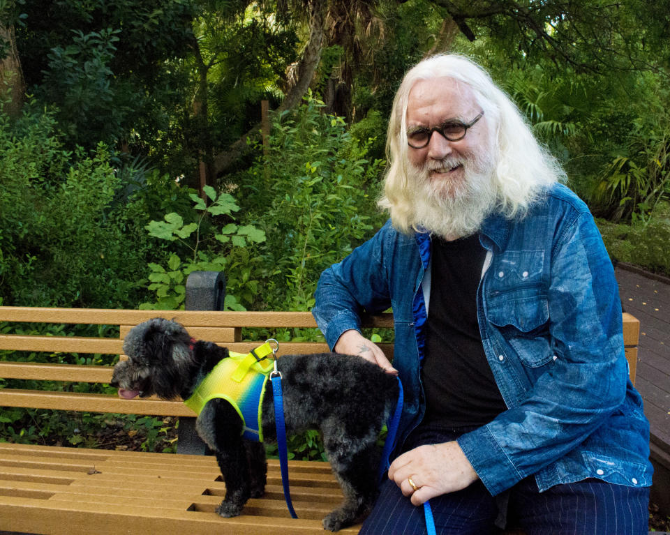 Billy Connolly: It's Been A Pleasure on ITV Pictured: Billy Connolly at his home in the Florida Keys. (Scarlett Stephenson-Connolly)