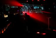 A man attends an LGBT event held at a club at Shibuya, amid the COVID-19 outbreak, in Tokyo