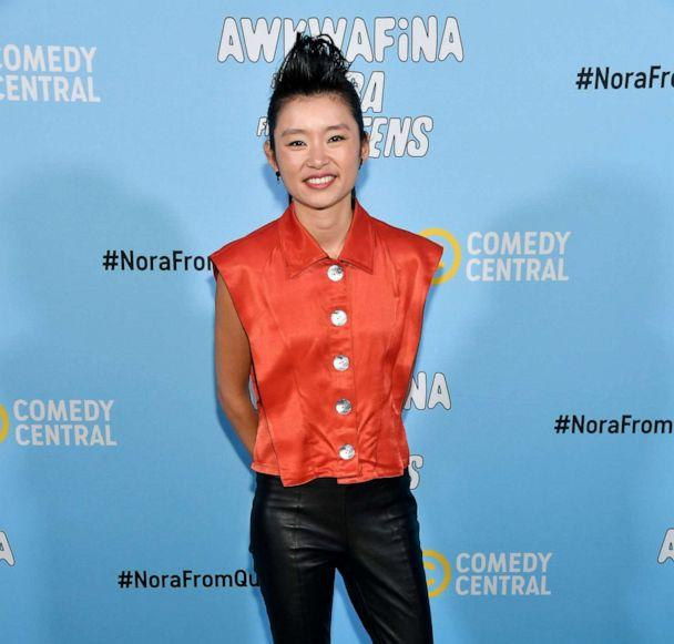 PHOTO: Actress Celia Au attends Comedy Central's 'Awkwafina is Nora From Queens' premiere party, Jan. 15, 2020, in Los Angeles. (Frazer Harrison/Getty Images, FILE)