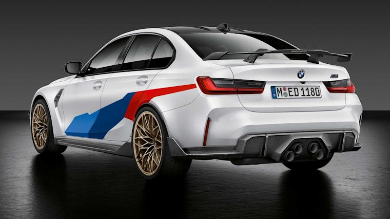 2021 BMW M3 Sedan and M4 Coupe with M Performance Parts