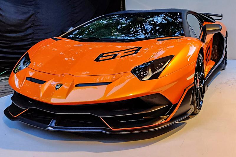 Lamborghini Aventador SVJ 63 Limited Edition Supercar Makes its Way to India
