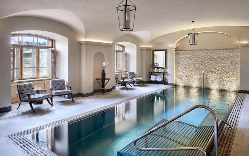Saunas, steam rooms, massages, facials and even underground swimming pools can be found across Prague's best spa hotels