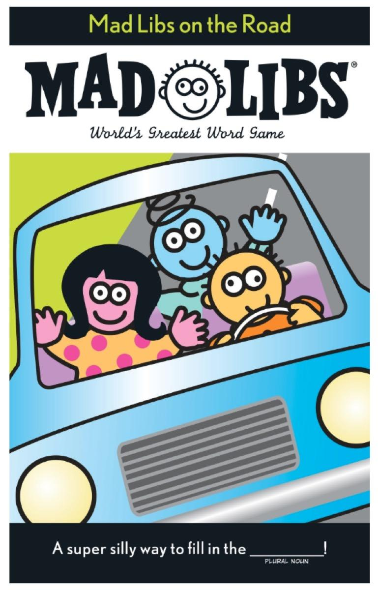 Mad Libs on the Road - car games for kids