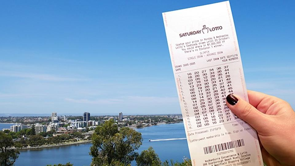A couple from Secret Harbour in Western Australia has won $1.8 million, yet the winner is still planning on fronting up for work tomorrow. Source: Lotterywest