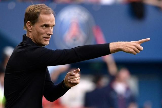 Thomas Tuchel is under even greater pressure than ever to deliver in Europe for PSG after their poor recent showings in the Champions League (AFP Photo/Martin BUREAU)