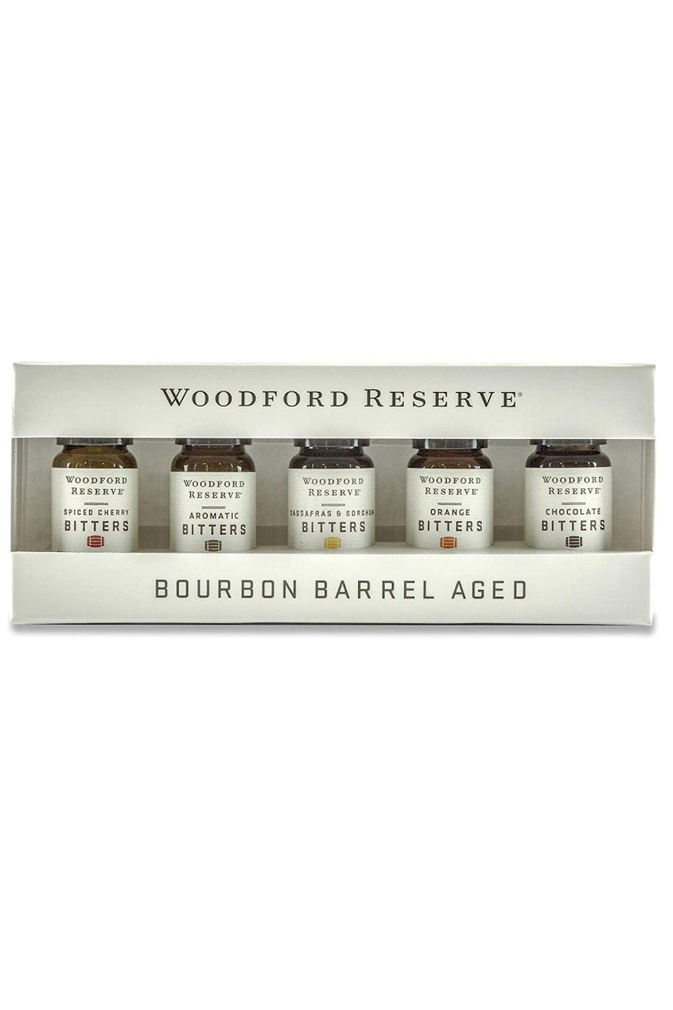 "<p><strong>Woodford Reserve</strong></p><p>amazon.com</p><p><strong>$28.95</strong></p><p><a href=""https://www.amazon.com/dp/B0761YV6GM?tag=syn-yahoo-20&ascsubtag=%5Bartid%7C10049.g.22628672%5Bsrc%7Cyahoo-us"" rel=""nofollow noopener"" target=""_blank"" data-ylk=""slk:Shop Now"" class=""link rapid-noclick-resp"">Shop Now</a></p><p>Does your partner routinely order an old fashioned whenever you two go out for date night? Then theywould absolutely appreciate a set of bitters to show off their own bartending skills at home (lucky you).</p>"