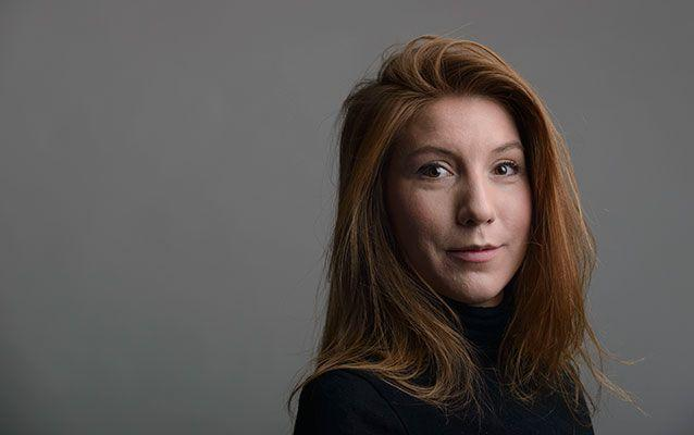 Danish police have found the head of Swedish journalist Kim Wall, who was last seen alive in August on an amateur-built Danish submarine. Picture: AP, File
