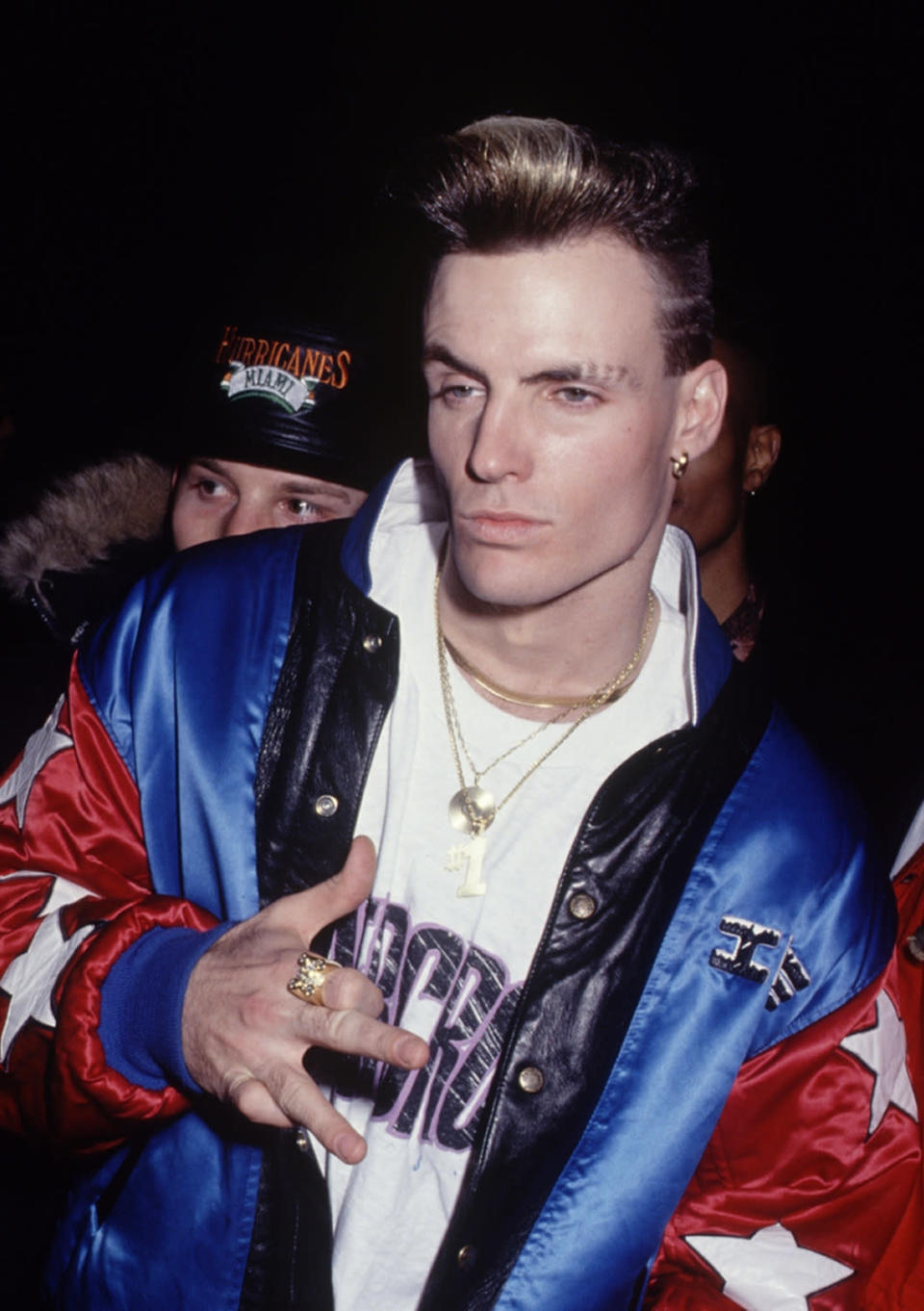 We see those eyebrow cuts! Vanilla Ice, circa 1985. (Photo by The LIFE Picture Collection/Getty Images)