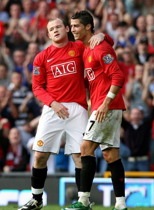 Wayne Rooney and Cristiano Ronaldo spent five seasons together at Manchester United