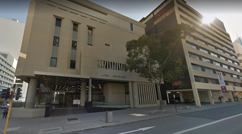 The woman appeared at Perth Magistrate's Court (Picture: Google Maps)
