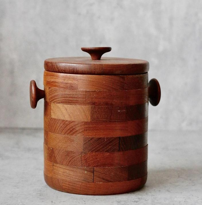 """$65, SustainAble Home Goods. <a href=""""https://yoursustainablehome.com/products/wooden-lidded-storage-container?_pos=1&_sid=18b30881f&_ss=r"""" rel=""""nofollow noopener"""" target=""""_blank"""" data-ylk=""""slk:Get it now!"""" class=""""link rapid-noclick-resp"""">Get it now!</a>"""