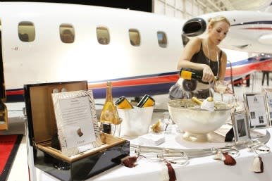 trappings of the wealthy