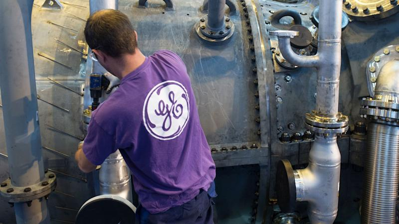 GE shares drop after blue chip is booted from the Dow after 110 years