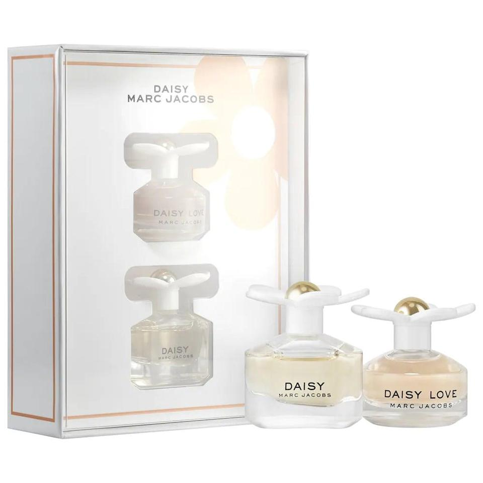 <p>You can't go wrong with the <span>Marc Jacobs Fragrances Mini Daisy Perfume Set</span> ($25). They can throw these in their bag for a midday pick-me-up and it's perfect for them to try out a floral scent.</p>