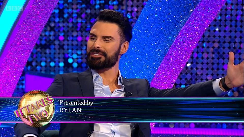 'Strictly: It Takes Two' presenter Rylan Clark-Neal has dropped his surname. (BBC)