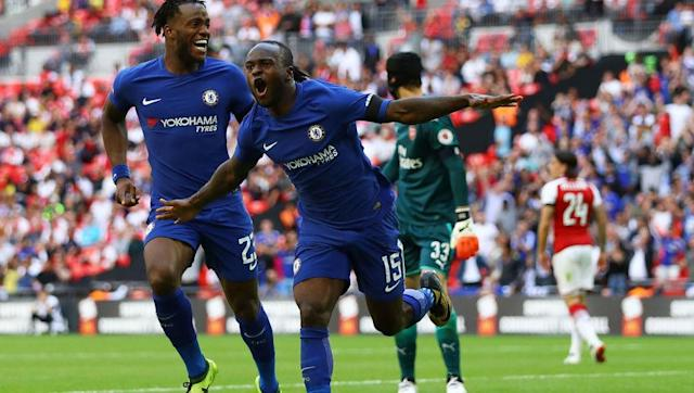 <p>On the other side in this combined XI would have to be Victor Moses. He has been converted from a winger to a wing back by Antonio Conte and it proved a shrewd move by the Italian. </p> <br><p>Moses scored three goals and provided two assists last year ( his best ever return) but he is also adapt at the art of defending. He made 48 tackles and 41 interceptions for the Blues last season.</p> <br><p>So whether he is bombing down the wing on Sunday or defending for his life you can be confident he will do a decent job no matter what. </p>