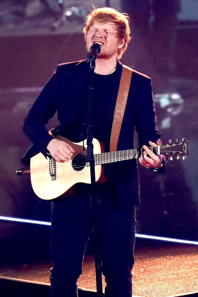 "<p>This nostalgic pop/rock track, which has climbed as high as No. 6, is from Sheeran's third studio album,<em><strong> ÷</strong></em>. Now if only Sheeran's monster hit ""Shape of You"" would finally recede to give this one some room. Current Hot 100 ranking: No. 30. <a href=""https://www.youtube.com/watch?v=K0ibBPhiaG0"" rel=""nofollow noopener"" target=""_blank"" data-ylk=""slk:LISTEN HERE"" class=""link rapid-noclick-resp""><strong>LISTEN HERE</strong></a><br>(Photo: Rich Polk/Getty Images for iHeartMedia) </p>"