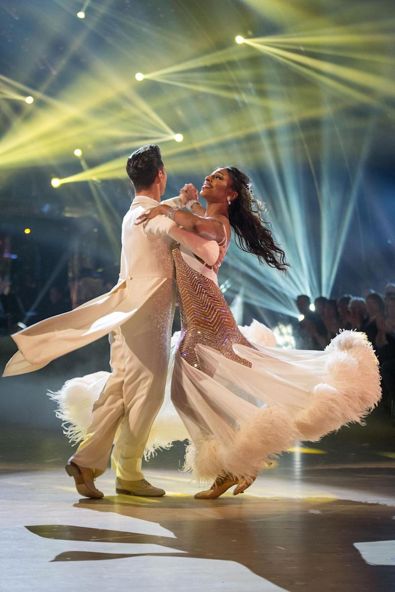 Perfect score: Alexandra Burke and Gorka Marquez (BBC / Guy Levy)