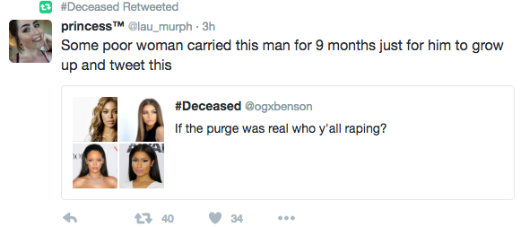 Zendaya Drags Man Who Asked Twitter Users If They Would Rape Her In A Real 'Purge'