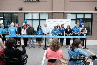 Dignitaries attending the opening day ribbon-cutting included State Representative Ken Hansen, West St. Paul Mayor David Napier, and West St. Paul City Council members Lisa Eng-Sarne and John Justen.